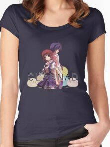 Nagisa and Tomoya - Clannad Women's Fitted Scoop T-Shirt