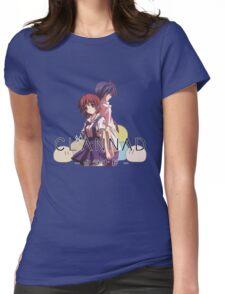 Nagisa and Tomoya - Clannad Womens Fitted T-Shirt