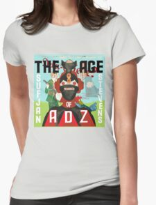 The age of Adz  Womens Fitted T-Shirt