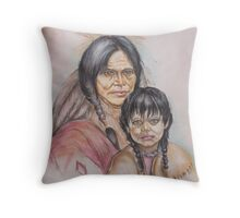 Native New Yorkers Throw Pillow