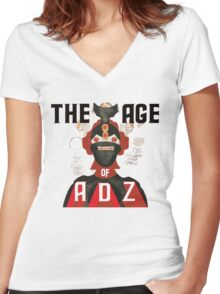 The Age of Adz Women's Fitted V-Neck T-Shirt
