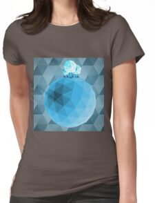 The Frozen World Womens Fitted T-Shirt