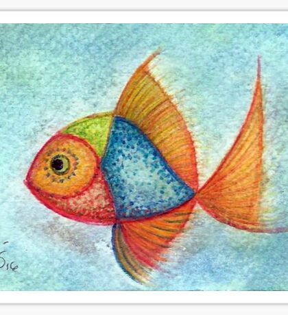 fish 2 Sticker