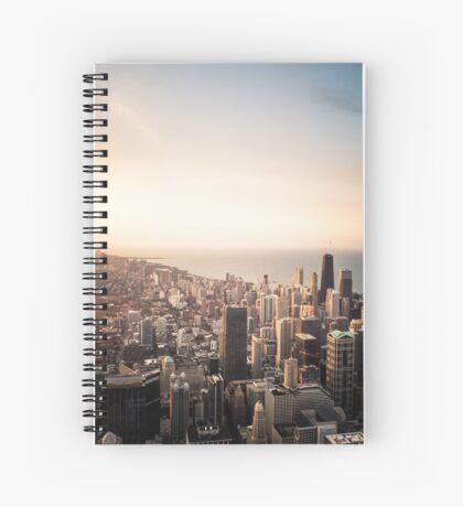 Buildings n' Sky Spiral Notebook