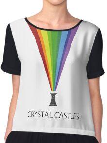 Crystal Castles Chiffon Top