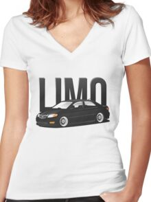 Toyota Limo / Vios 1NZ-FE Women's Fitted V-Neck T-Shirt