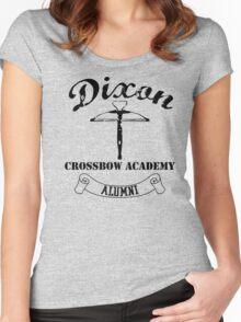 Dixon Crossbow Academy Alumni Women's Fitted Scoop T-Shirt