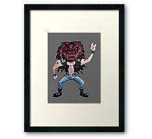 Metal Dude Framed Print