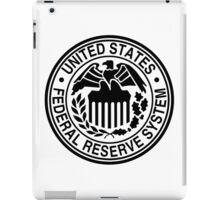 Federal Reserve System Logo iPad Case/Skin