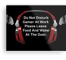 Gaming poster Metal Print