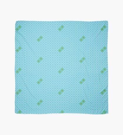Tessellation tiling pattern in blue Scarf