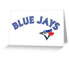 Toronto Blue Jays Wordmark with logo Greeting Card
