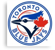 Toronto Blue Jays logo Canvas Print
