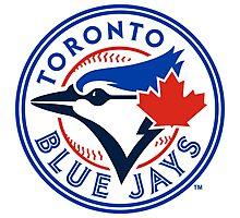 Toronto Blue Jays logo Photographic Print