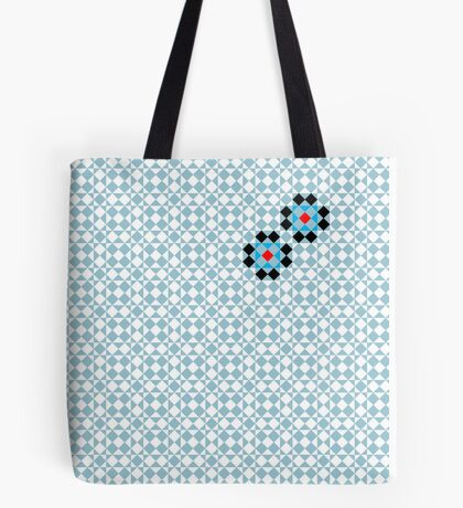 Math Tessellation Pattern Tote Bag