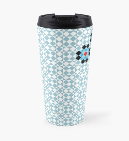 Math Tessellation Pattern Travel Mug