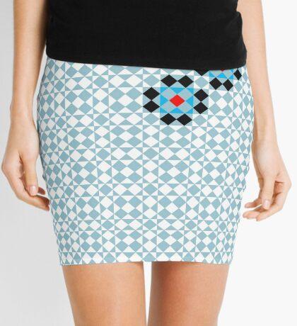 Math Tessellation Pattern Mini Skirt