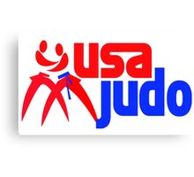 Team USA Judo Canvas Print