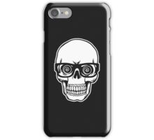 Skull with Glasses iPhone Case/Skin