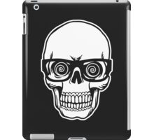 Skull with Glasses iPad Case/Skin