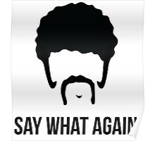 Say What Again - Pulp Fiction Poster
