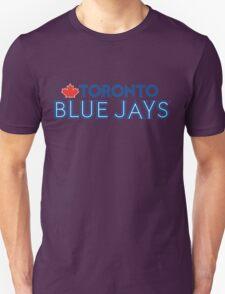 Toronto Blue Jays Wordmark with Canada maple leaf T-Shirt