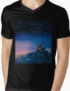 Wall-E Mens V-Neck T-Shirt