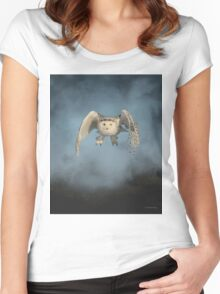 From the mist cometh mystery Women's Fitted Scoop T-Shirt