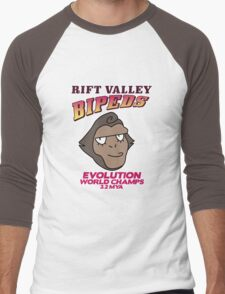 Rift Valley Bipeds Men's Baseball ¾ T-Shirt