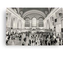 Grand Central Terminal monochrome Canvas Print