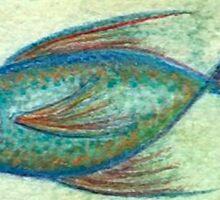fish 4 Sticker