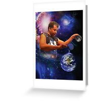 Neil DeGrasse Tyson: Planet Earth Greeting Card