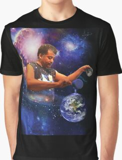 Neil DeGrasse Tyson: Planet Earth Graphic T-Shirt