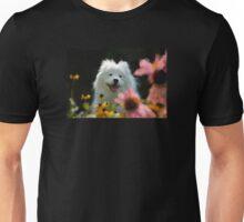 Happy Gal In The Garden Unisex T-Shirt