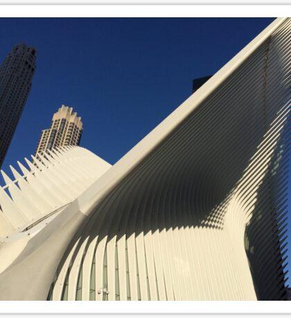World Trade Center Transit Hub Oculus, Lower Manhattan, New York City Sticker