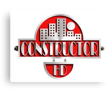 constructor hd  Canvas Print
