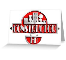 constructor hd  Greeting Card