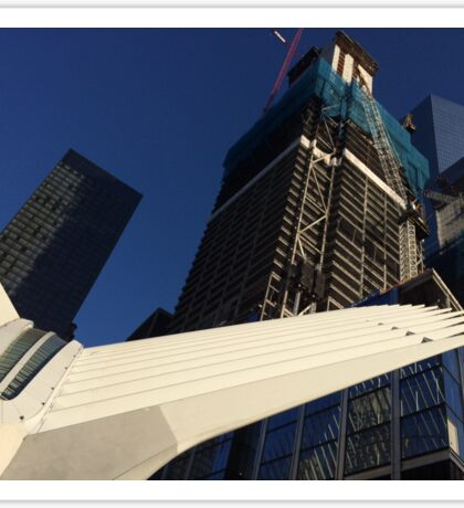 World Trade Center Transit Hub Oculus, 3 World Trade Center, 4 World Trade Center, New York City Sticker