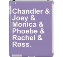 friends names iPad Case/Skin