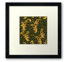 OGRES HAVE LAYERS  Framed Print