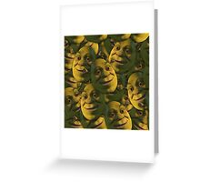 OGRES HAVE LAYERS  Greeting Card