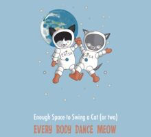 Every Body Dance Meow Baby Tee
