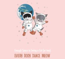 Every Body Dance Meow One Piece - Short Sleeve
