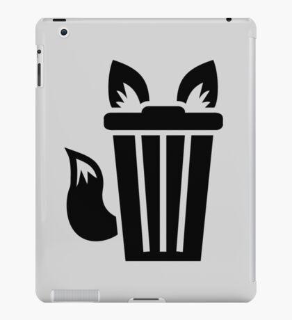 Furry Trash Icon iPad Case/Skin