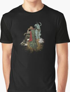 Saga - The Will & Lying Cat Graphic T-Shirt