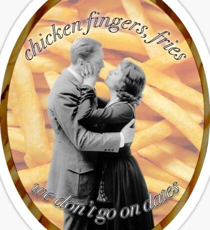 Jumpman Chicken Wings, Fries Sticker