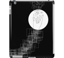 Black and White Hand iPad Case/Skin