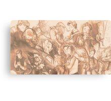 Art compilation banner (2013-2014) Canvas Print