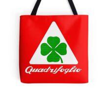 Quadrifoglio Alfa Fill Graphic Print Tote Bag