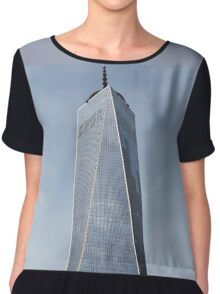 Freedom Tower and 7 WTC Chiffon Top